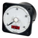 DV Series Analog Switchboard Meter with Digital Display - DC Volt Meter