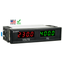 Model DD-40VHZ Dual AC Volt/Frequency Digital Meter