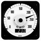 Model 007-DI Digital/Analog Combination Tachometer Indicators
