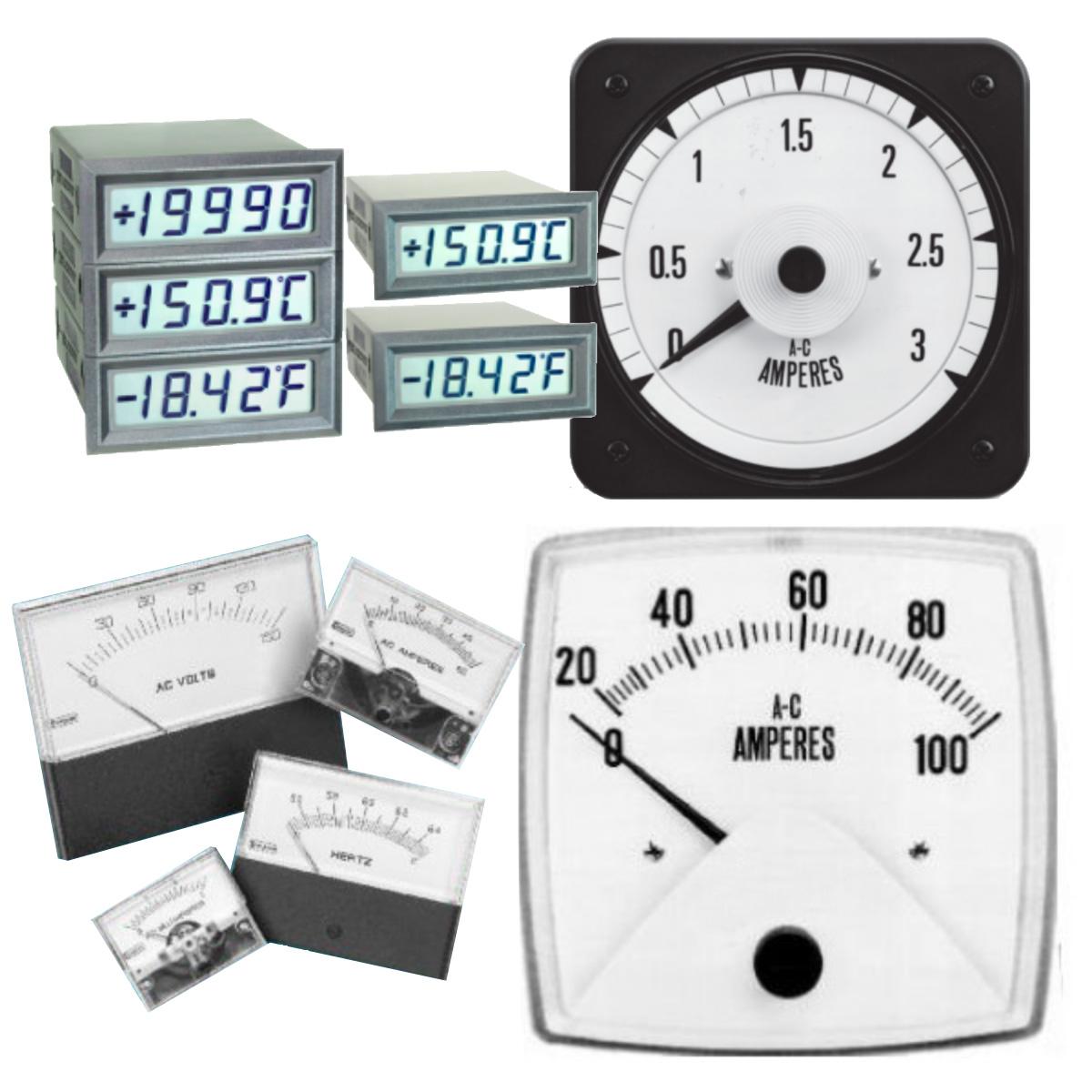 Analog and Digital Meters