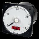 DV Series Analog Switchboard Meter with Digital Display - AC Amp Meter