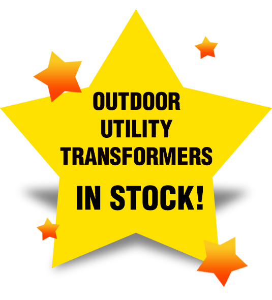 In stock inventory of utility transformers